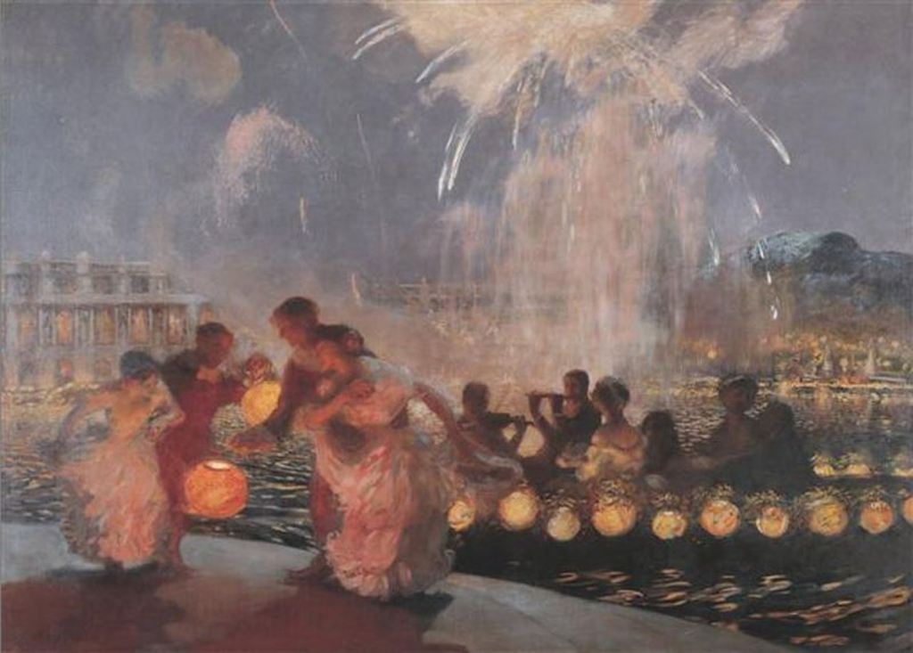 Gaston LaTouche, The Joyous Festival, ca.1906