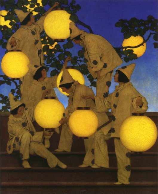 The Lantern Bearers, 1908, oil on canvas on board Crystal Bridges Museum of American Art, Bentonville, Arkansas, 2006.71